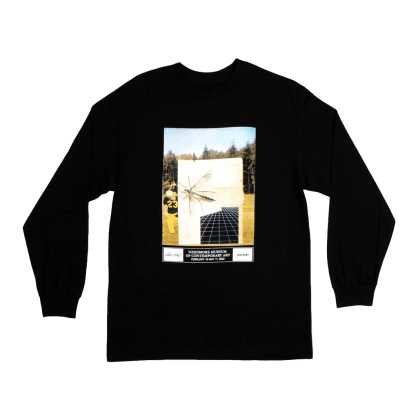 Quasi Exhibition Long Sleeve T-Shirt - Black
