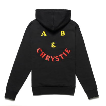 Chrystie NYC - A&B Chrystie Smile logo hoodie / Black