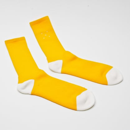 Pop Trading Company Sportswear Socks Burnt Orange