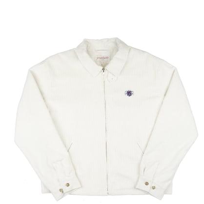Yardsale YS Spider Corduroy Jacket - White