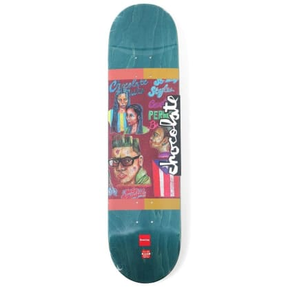 Chocolate - Cruz Cuts Series Deck 8""