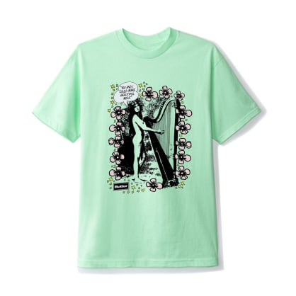 Butter Goods Harp T-Shirt - Mint