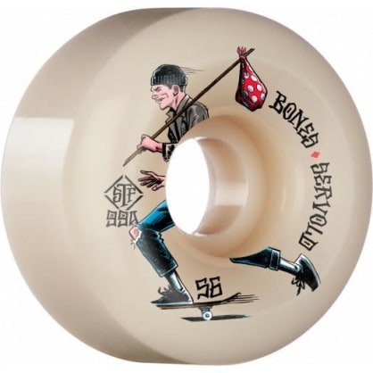 Bones Wheels STF Servold Gone Skating 56mm 99a V6