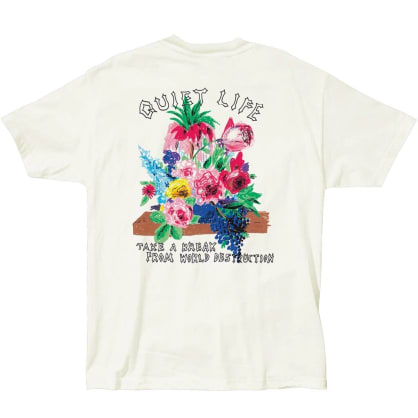 QUIET LIFE Take a Break Tee Cream