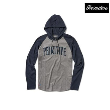 Primitive Popover Hoody - Heather/Midnight