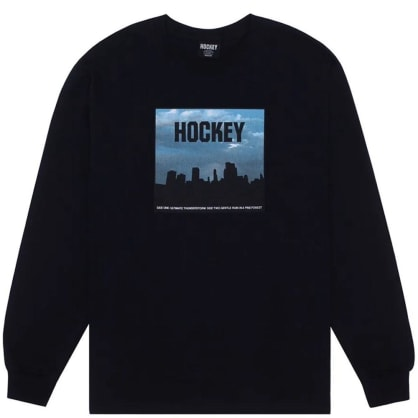 Hockey Skateboards Side Two Long Sleeve T-Shirt - Black