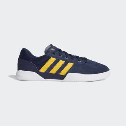 Adidas Skateboard City Cup Skate Shoes - Collegiate Navy/Cloud White