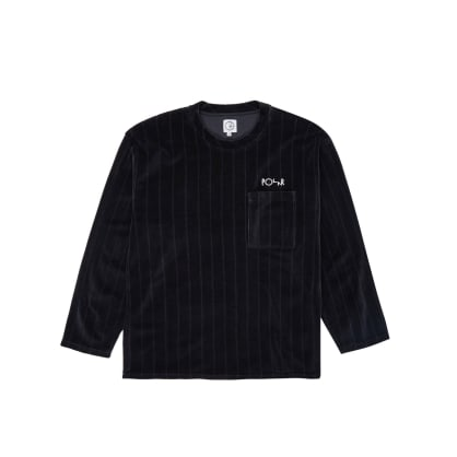Polar Skate Co Velour Pullover - Black
