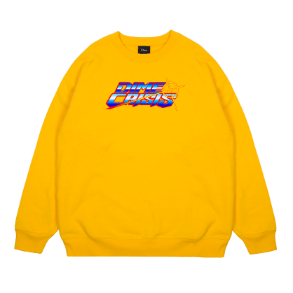 Dime Crisis Crewneck - Yellow