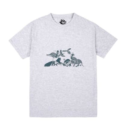 Magenta Skateboards - Magenta Gathering T-Shirt | Ash Grey
