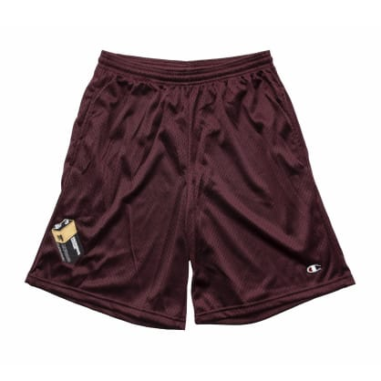 Bronze 56k Battery Shorts - Maroon