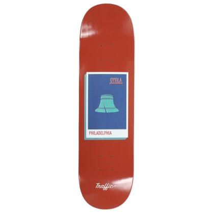 Traffic Skateboards Oyola Postcard Deck 8.5