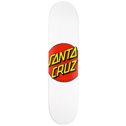 "Santa Cruz Skateboards - Classic Dot Deck 8"" Wide"
