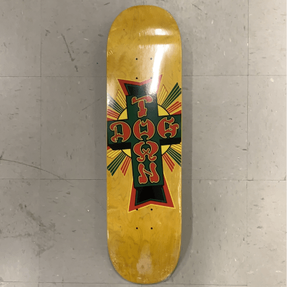 Dogtown Skateboards Street Cross Logo Deck