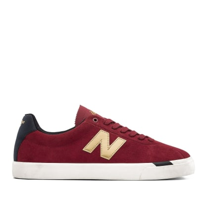 New Balance Numeric NM22 Shoes - Red / Gold