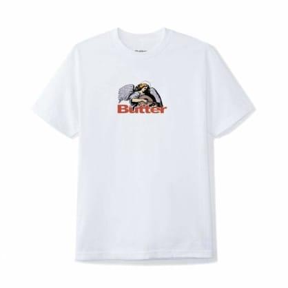 Butter Goods Serenade Logo T-Shirt - White