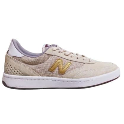 New Balance Numeric 440 (White / Gold / Red)