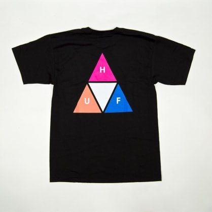 Huf - Prism Triple Triangle T-Shirt - Black