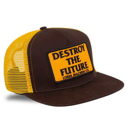 Loser Machine Destroy Trucker Cap | Brown