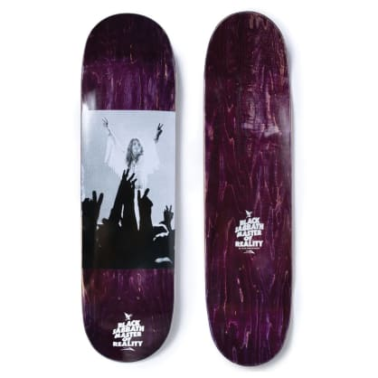 The Lakai x Black Sabbath Collaboration deck 8.25""