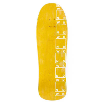 WKND Side Logo Shaped Deck 9.875""