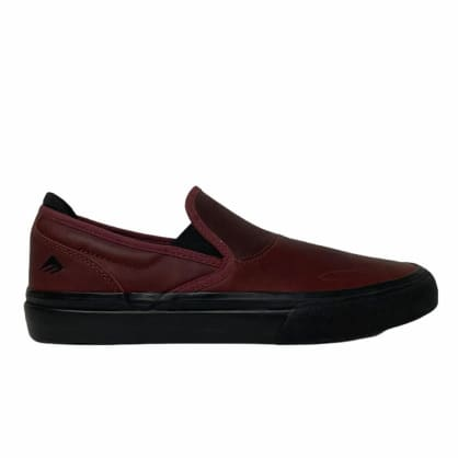 Emerica Wino G6 Slip On Oxblood