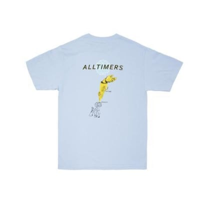 Alltimers Time Zone Tee Powder Blue