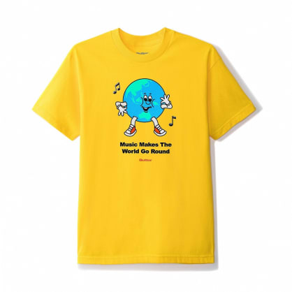 Butter Goods Go Round T-Shirt - Yellow