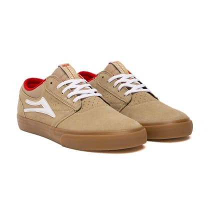 Lakai - Griffin Shoes - Tan / Gum