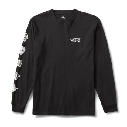 Vans Rowan Zorilla Faces Long Sleeve T-Shirt - Black