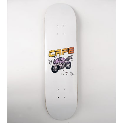 Skateboard Cafe Motorcycle Skateboard Deck - 8.75""