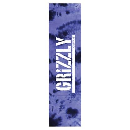 Grizzly Tie Dye Stamp Griptape Purple
