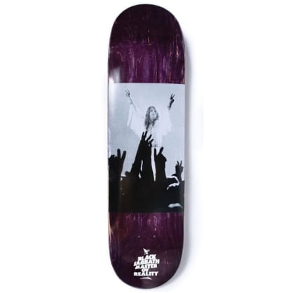 Lakai x Black Sabbath Tour Photo Collaboration Skateboard Deck 8.25""