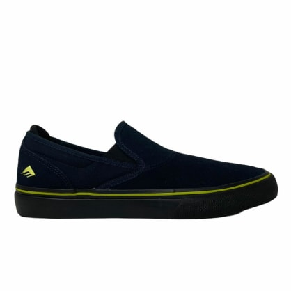 Emerica Wino G6 Slip On Navy Black