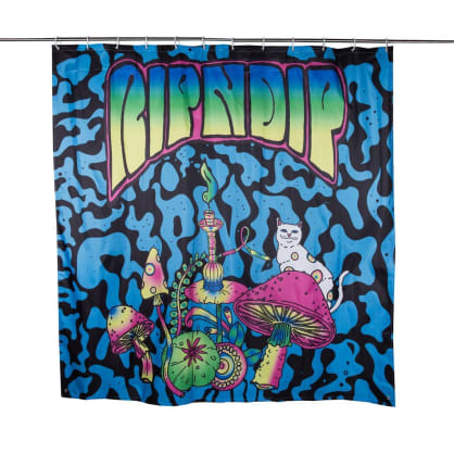 Rip N Dip - Psychedelic Shower Curtain (Multi)
