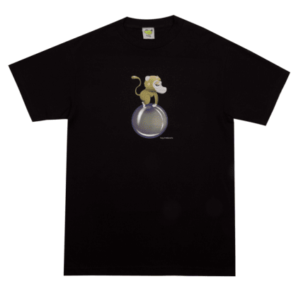 Frog Skateboards Monkey Bubble T-Shirt - Black