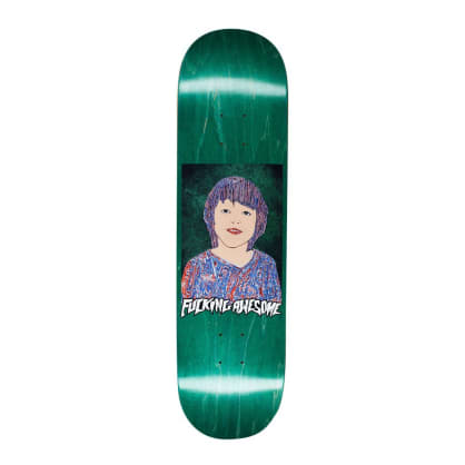 """Fucking Awesome Painted Sean Skateboard Deck - 8.38"""""""