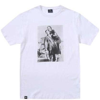 Hélas Bonnie And Clyde T-Shirt - White