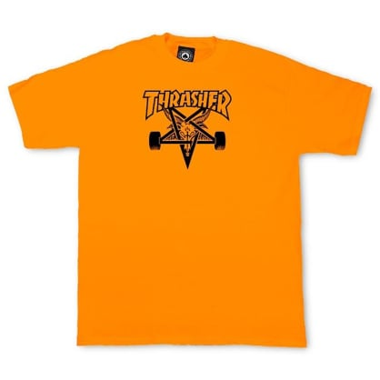Thrasher Skategoat T-Shirt (Safety Orange)