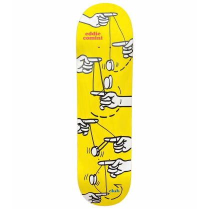 Club Skateboards Eddie Comini Pro Deck