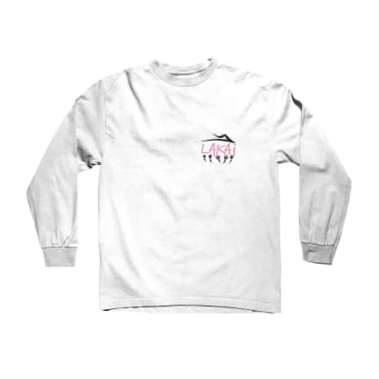 Lakai Pushing Daisies L/S Tee White