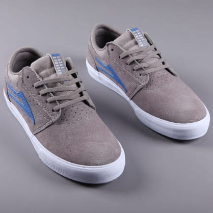 Lakai 'Griffin VLK' Skate Shoes (Grey / Blue Suede)
