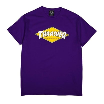 Thrasher - Diamond Logo SS Purple
