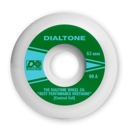 Dial Tone Atlantic Conical Skateboard Wheels - 53mm 99a