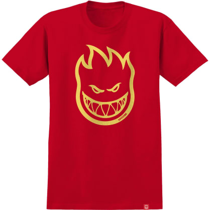 SPITFIRE Bighead Tee Red/Yellow