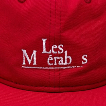 Isle Skateboards - Les Mis 6 panel red