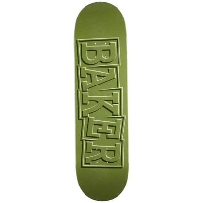 Baker T-Funk Ribbon Green Deck- 8.5