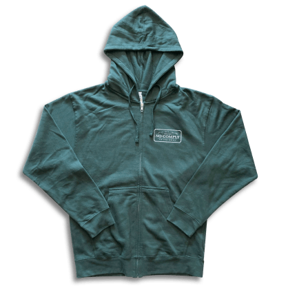 No-Comply Locally Grown Zip Hoodie