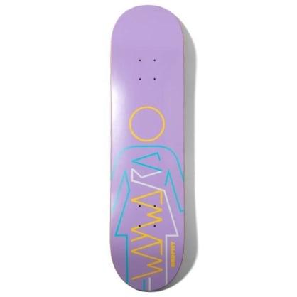 "Girl X Wayward Andrew Brophy Skateboard Deck 8.25"""