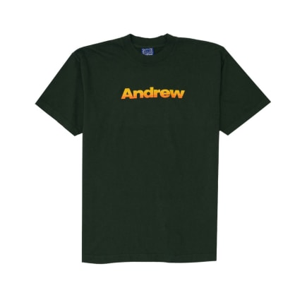 Andrew - 3 Color Logo Tee - Ivy